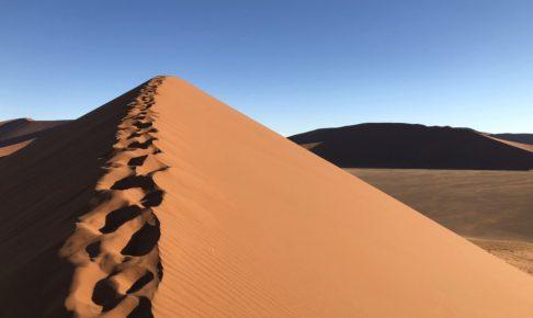 ナミブ砂漠 レンタカー